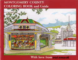 Montgomery County Coloring Book Cover