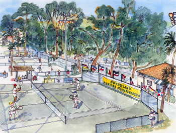 Van Der Meer Tennis Center, Hilton Head, SC